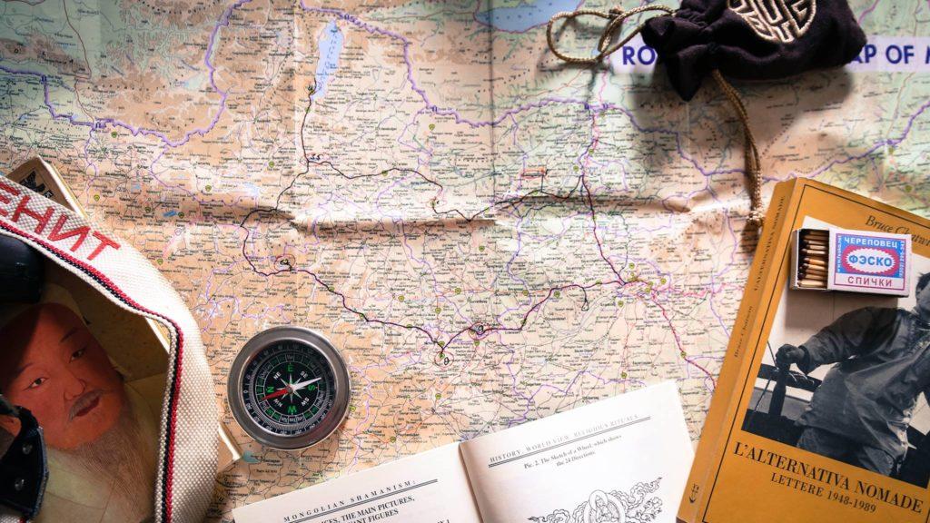 Fedrico Pellici mappa Viaggio roads