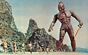Talo gigante di bronzo