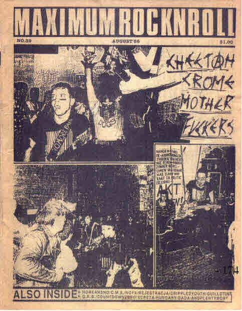 Maximum Rock'n'Roll documento della scena musicale underground