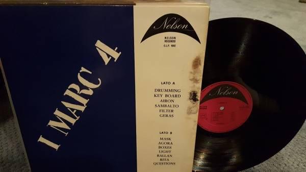 I marc 4 dischi